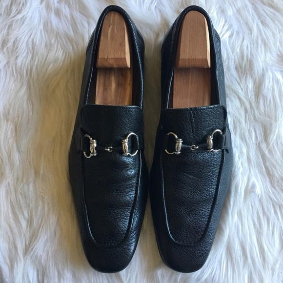 8f8163fb630 Magnanni Other - Magnanni Black Leather Horsebit loafer slip on